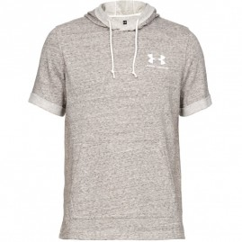 Tričko Under Armour Sportstyle Terry SS Hoody