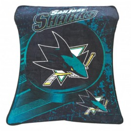 Deka San Jose Sharks Nortwest 115x152cm