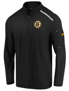 Mikina Boston Bruins Clutch Quarter Zip