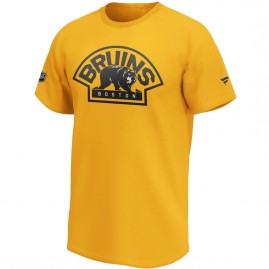 Tričko Boston Bruins Iconic Secondary Colour