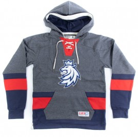 Mikina Czech Republic CCM Jersey Fleece Hood